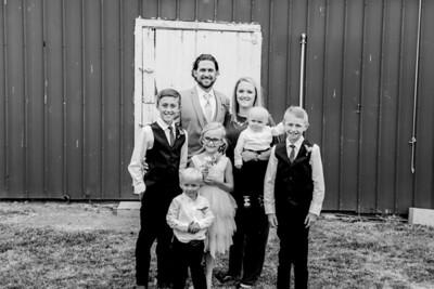 01052-©ADHPhotography2019--JustinMattieBell--Wedding--September28bw
