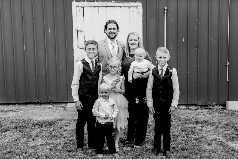 01057-©ADHPhotography2019--JustinMattieBell--Wedding--September28bw