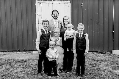 01056-©ADHPhotography2019--JustinMattieBell--Wedding--September28bw