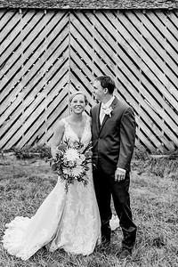 02166-©ADHPhotography2019--JustinMattieBell--Wedding--September28bw