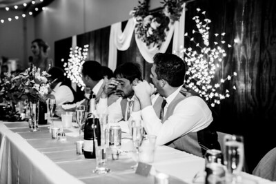 02699-©ADHPhotography2019--JustinMattieBell--Wedding--September28bw