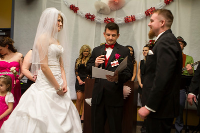 Primetime's Valentine Shotgun Wedding