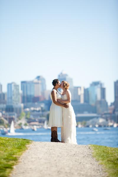 Kathryn and Jennifer Wedding
