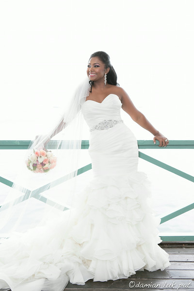 Kabrina &  Lendl Simmons Wedding
