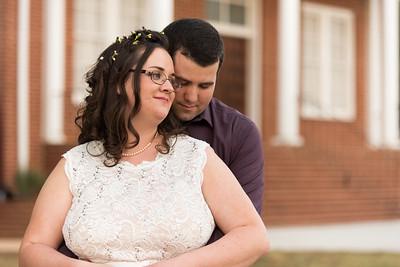 Kaitlyn and Joshua Wed-496
