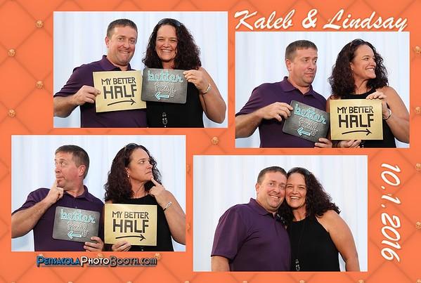Kaleb & Lindsay 10-1-2016