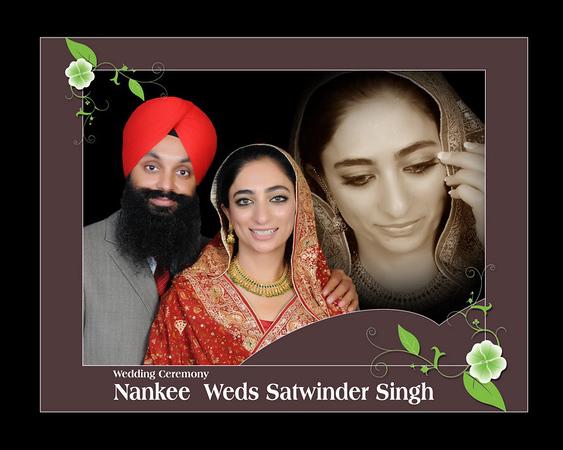 Nankee weds Satwinder's Album