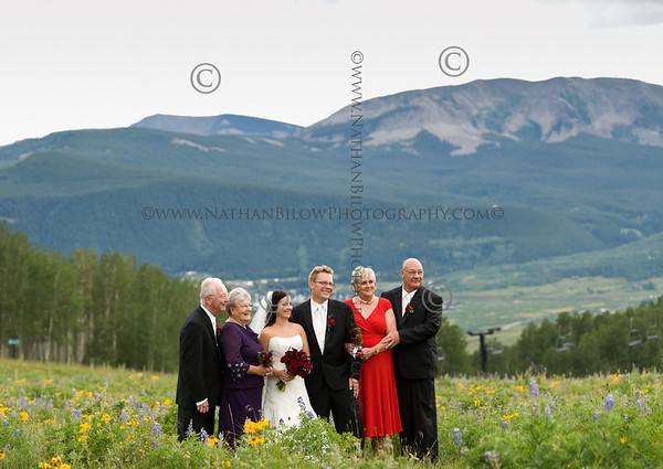 Kara Schuler and Daren Willen at their wedding during their wedding day, ceremony on Sat., Aug. 7, 2010. (Photo/Xavier Fane)
