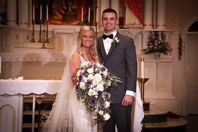 Heather and Derek Formal Wedding Photographs