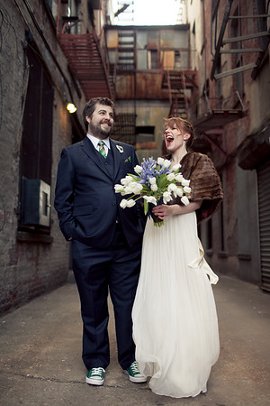 Kate + Brian // Green Building