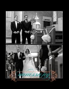 Kate wedding album layout 019 (Side 38)