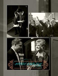 Kate wedding album layout 017 (Side 33)