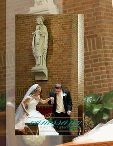 Kate wedding album layout 022 (Side 43)