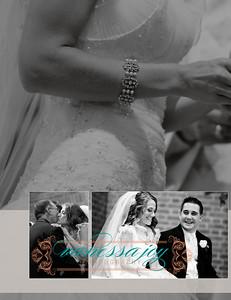 Kate wedding album layout 023 (Side 45)