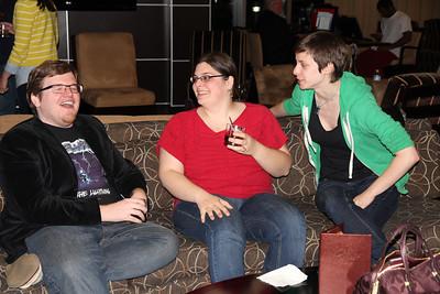James, Kelly, Anna