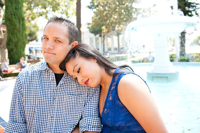 Becca Estrada Photography - Kirshner Engagement - Old Towne Orange-6