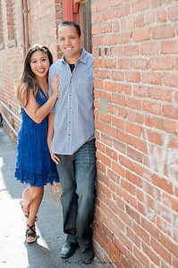 Becca Estrada Photography - Kirshner Engagement - Old Towne Orange-2