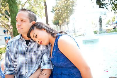 Becca Estrada Photography - Kirshner Engagement - Old Towne Orange-5