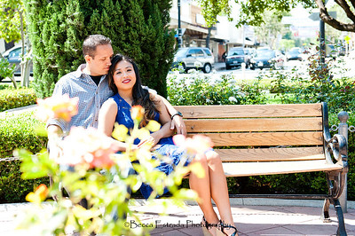 Becca Estrada Photography - Kirshner Engagement - Old Towne Orange-27