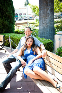 Becca Estrada Photography - Kirshner Engagement - Old Towne Orange-23