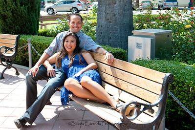 Becca Estrada Photography - Kirshner Engagement - Old Towne Orange-24