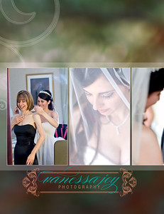 wedding album layout 012 (Side 23)