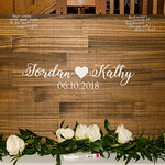 wedding of Kathy and Jordan