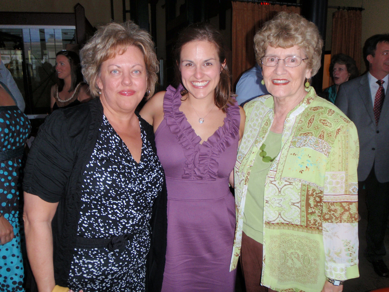 Susan, Katie, and Mom