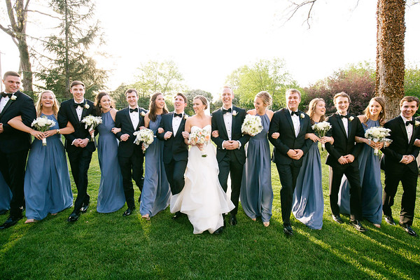 Bridal Party & Groomsmen Photos