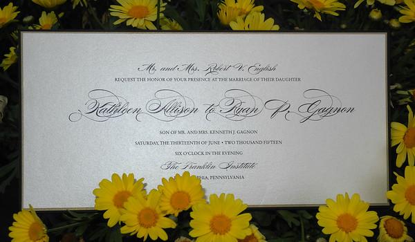 Katie & Ryan Wedding/Reception 6-13-15