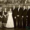 wedding party sepia 2589