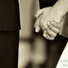 holding hands sepia 8043