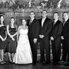 wedding party bw 2589