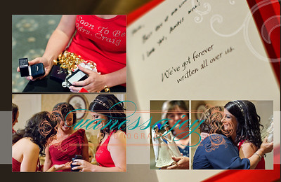 katie wedding album layout 013 (Sides 25-26)