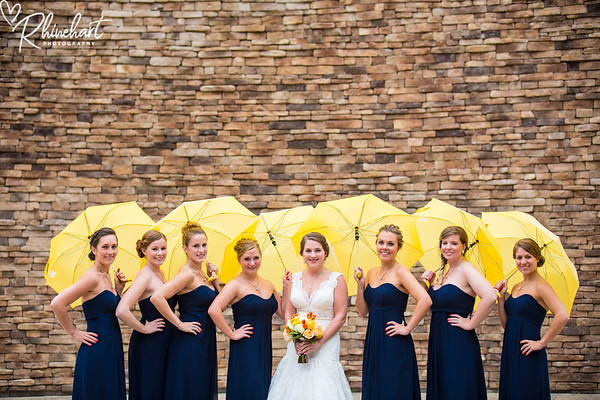 Katie & Ned: Bridal Party