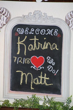 Katrina and Matt's wedding!