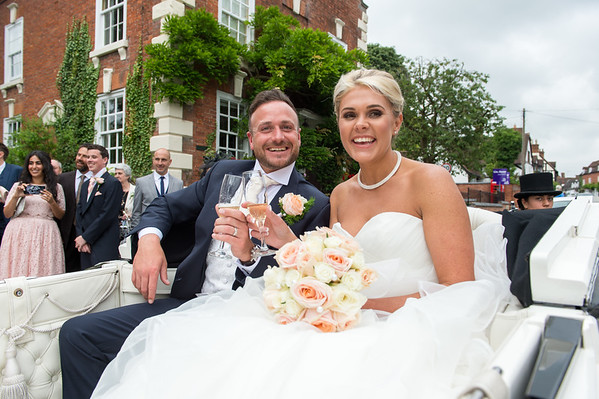 Katy & Brett at St Cassiens, Chaddesley Corbett  and Brockencote Hall