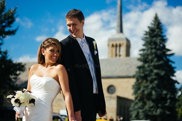 kayla + tom | wedding | the suburban collection, novi