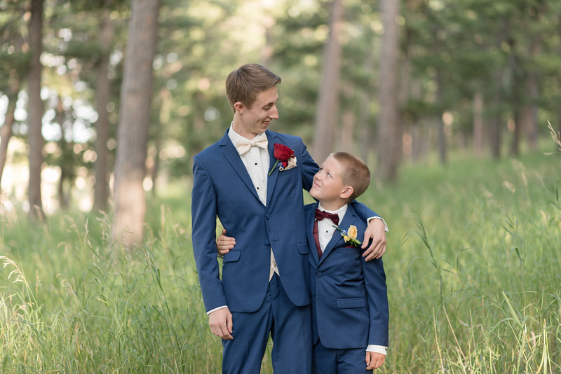 Groomsmen Portraits at Christies of Genesee Wedding