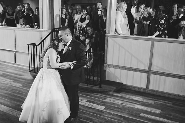 Father Daughter Dance at Christies of Genesee Wedding