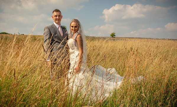 Kellie and Ryan wedding Tideswell Church and The Palace Hotel Buxton