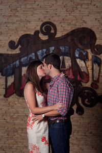 Kelly and Chris' Engagement session at the Houston Museum of Natural Science and Hermann Park on July 19th, 2011.