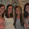 The Twins and their high school friends:  Katie and Jackie