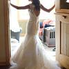 full Length Dress shot in doorway