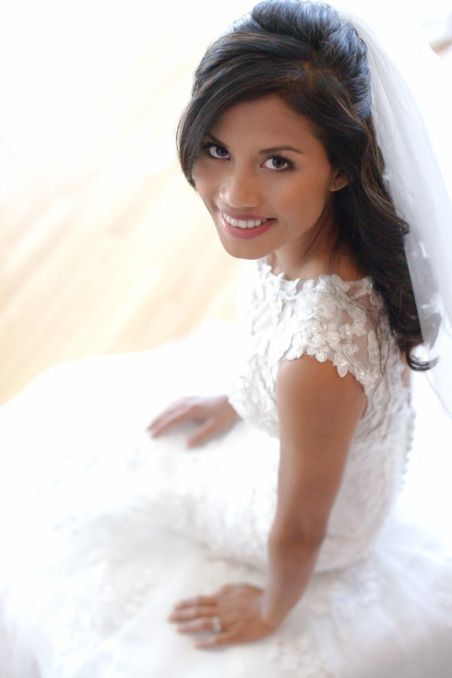Sweet close up shot of our Bride