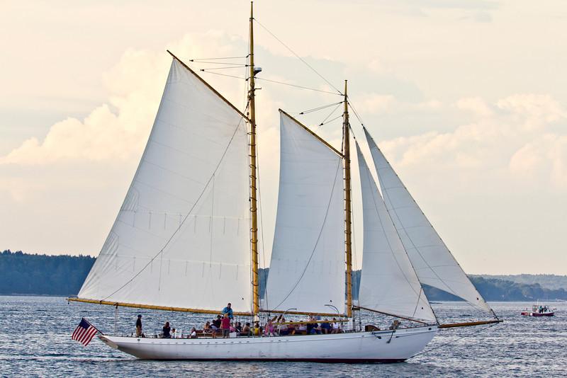 Wendameen, 88-foot Schooner, commissioned in 1912.