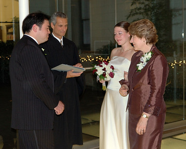 Giving of the bride.