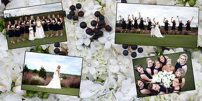 Pages 4 and 5  Pano Bride with Girls