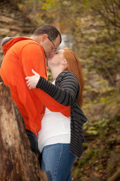 Kerri & Mike's Engagement Webster Falls