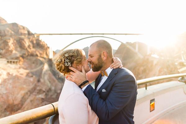 Kerri & Matt   2017.12.17   Hoover Dam, NV